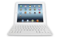Logitech Ultrathin Keyboard Cover Bluetooth AZERTY Francese Bianco tastiera per dispositivo mobile