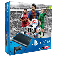 Sony 500GB, PlayStation 3 + FIFA 13 500GB Wi-Fi Nero