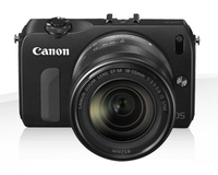 Canon EOS M + 18-55mm + 22mm Kit fotocamere SLR 18MP CMOS 5184 x 3456Pixel Nero