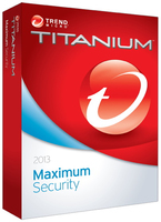 Trend Micro Titanium Maximum Security 2013 Full license 1anno/i Inglese, Francese