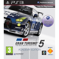 Sony Gran Turismo 5: Academy Edition, PS3 PlayStation 3 Inglese videogioco