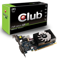CLUB3D CGNX-G648L GeForce GT 640 4GB GDDR3 scheda video