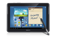 Samsung Galaxy Note 10.1 16GB Rosso tablet