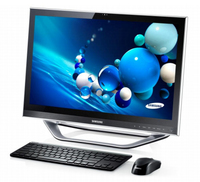 "Samsung ATIV One 7 DP700A3D 2.8GHz i3-3220T 23.6"" 1920 x 1080Pixel Touch screen Argento PC All-in-one"