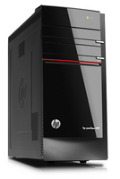 HP Pavilion h8-1335L 3.4GHz i5-3570 Torre media Nero PC