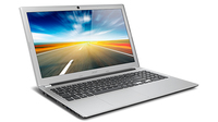 "Acer Aspire 571PG-53314G75Mass 1.7GHz i5-3317U 15.6"" 1366 x 768Pixel Touch screen Argento"