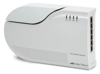 Allied Telesis Active Ethernet fiber intelligent Multiservice Gateway w/ 4x FXS & 6x LAN, EU power cord gateway/controller