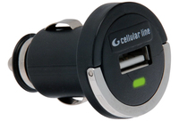Cellularline USB car micro charger Auto Nero caricabatterie per cellulari e PDA