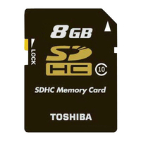 Toshiba 8GB Professional SDHC 8GB SDHC Classe 10 memoria flash
