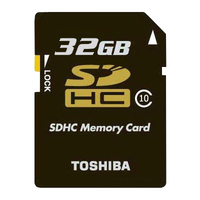 Toshiba 32GB Professional SDHC 32GB SDHC Classe 10 memoria flash