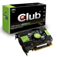 CLUB3D CGNX-XT652 GeForce GTX 650 Ti 1GB GDDR5 scheda video