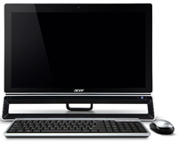 "Acer Aspire S600-005 2.7GHz i5-3330S 23"" 1920 x 1080Pixel Touch screen Nero"