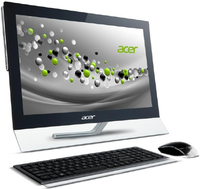 "Acer Aspire 5600U-002A 2.4GHz i3-3110M 23"" Touch screen Nero"