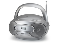 AudioSonic CD-1581 Digitale 6W Argento radio CD