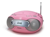 AudioSonic CD-1582 Digitale 6W Rosa radio CD