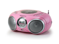 AudioSonic CD-1572 Digitale 6W Rosa radio CD