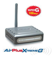 D-Link 802.11g Ethernet to Wireless LAN Client Adapter 108Mbit/s scheda di rete e adattatore