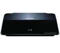 D-Link DIR-657/E Gigabit Ethernet Nero router wireless