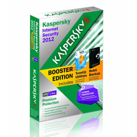 Kaspersky Lab Internet Security 2012 Booster Edition, 3u, 1Y 3utente(i) 1anno/i