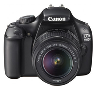 Canon EOS 1100D + EF-S 18-55 IS Kit fotocamere SLR 12.2MP CMOS 4272 x 2848Pixel Nero