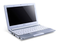 "Acer Aspire One N57DQWS32BT 1.66GHz N570 10.1"" 1024 x 600Pixel Bianco Netbook"