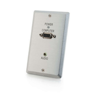 C2G TruLink VGA+3.5mm Audio over UTP Wall Plate Transmitter switch per keyboard-video-mouse (kvm)