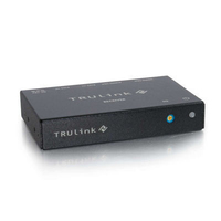 C2G TruLink VGA+3.5mm Audio over UTP Box Receiver Nero switch per keyboard-video-mouse (kvm)