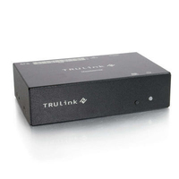 C2G TruLink 8-Port VGA+3.5mm Audio over UTP Box Transmitter Nero switch per keyboard-video-mouse (kvm)