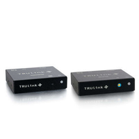 C2G TruLink VGA over UTP Box Transmitter/ Box Receiver Kit Nero switch per keyboard-video-mouse (kvm)