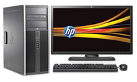 HP Compaq Elite 8200 MT 3.4GHz i7-2600 Mini Tower Nero PC