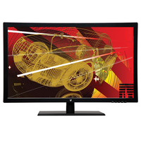 "V7 LED236W3 23.5"" Full HD Nero monitor piatto per PC"