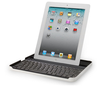 Logitech Keyboard Case f/ iPad2 Bluetooth Norvegese Alluminio tastiera per dispositivo mobile