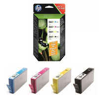 HP 364XL Combo Value Pack Nero, Ciano, Giallo cartuccia d