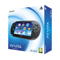 "Sony PlayStation Vita 3G 5"" Touch screen Wi-Fi Nero console da gioco portatile"