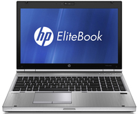 "HP EliteBook 8560p 2.5GHz i5-2450M 15.6"" 1366 x 768Pixel Nero, Argento"