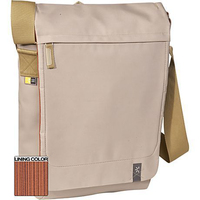 "Case Logic XN Vertical Messenger Bag Cream 15.4"" Borsa da corriere Beige"