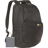 "Case Logic TK Backpack Black 15.4"" Zaino Nero"