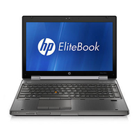 "HP EliteBook 8560w 2.8GHz i7-2640M 15.6"" 1920 x 1080Pixel Workstation mobile"