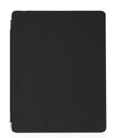 Macally Hard Shell Clear Case Cover Nero, Trasparente