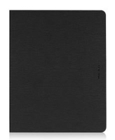 Macally Slim Folio Custodia a libro Nero