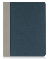 Macally Slim Folio Custodia a libro Blu