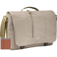 "Case Logic XN Messenger Bag Cream 15.4"" Borsa da corriere Beige"