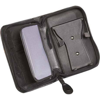 Case Logic Leatherlook Stongman PDA Case - Zippered Ecopelle Nero