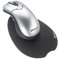 Targus Wireless Ergo Mouse RF Wireless Ottico 800DPI Argento mouse