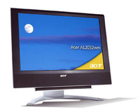 "Acer AL2032wm, Widescreen Design 20"" LCD , S-Video, DVI & Analog, SCART 20"" monitor piatto per PC"