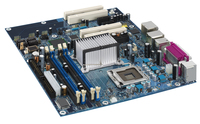 Intel Single box; Gigabit LAN; DDR2 memory support; Integrated audio; Serial ATA supporting ® Matrix Storage Technology; IEEE 1394a LGA 775 (Socket T) ATX scheda madre