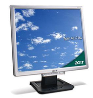 "Acer AL1716s 17"" LCD 12 ms silver 17"" monitor piatto per PC"
