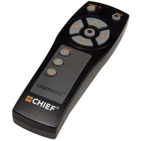 Chief IR10 IR Wireless Pulsanti Nero telecomando