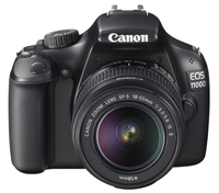 Canon EOS 1100D + EF-S 18-55mm IS II Kit fotocamere SLR 12.2MP CMOS 4272 x 2848Pixel Nero