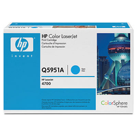 HP Q5951AG Laser cartridge 10000pagine Ciano cartuccia toner e laser